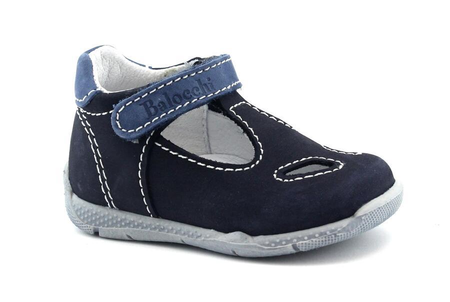 on sale b1618 d21fe BALOCCHI OVER 492120 18/22 navy blu scarpe bambino sandali ...