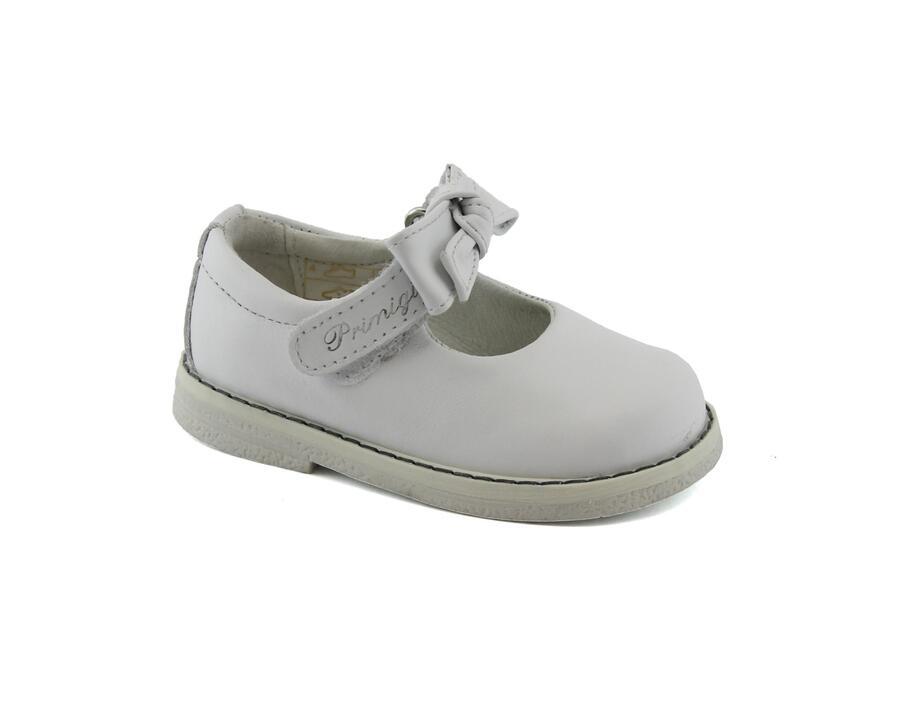 buy popular e4f75 8dc52 PRIMIGI 1353511 bianco scarpe bambina ballerine strappo ...
